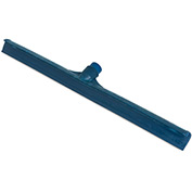 "Sparta® 24"" Plastic Frame Rubber Floor Squeegee w/ 60"" Fiberglass Handle, Blue - 36568KIT14"