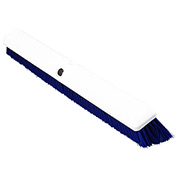 "Spectrum® Omni Sweep® 24"" Push Broom w/ 60"" Fiberglass Handle, Blue - 41891KIT14"