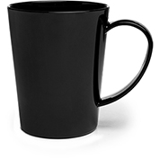 Carlisle 4306803 Mug 12 oz - Black - Pkg Qty 12
