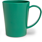 Carlisle 4306809 Mug 12 oz - Meadow Green - Pkg Qty 12