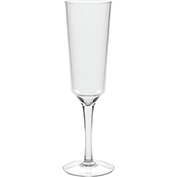 Carlisle 4950007 Astaire Stemware Flute Glass 6 oz Clear Package Count 12