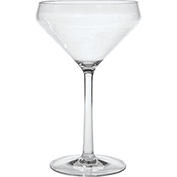 Carlisle 4950107 Astaire Stemware Martini Glass 11 oz Clear Package Count 12