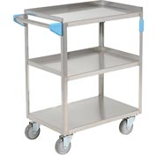 Carlisle UC3031524 Stainless Steel Utility Transportation Cart 300 Lb. Capacity 24x15-1 2 by