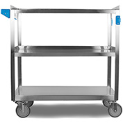 Carlisle® UC5032135 Stainless Steel Utility Cart 500 Lb. Capacity 21x35