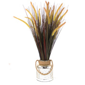 Creative Displays Dune Grass In Mercury Vase