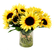 Creative Displays Mixed Sunflower Bouquet