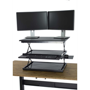 CHANGEdesk Sit-Stand Adjustable Height Desk Conversion