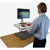 Uncaged Ergonomics CHANGEdesk Mini Sit-Stand Desk Conversion Workstation - White