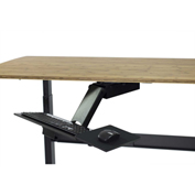 Ergonomic Adjustable Standing Under-Desk Keyboard Tray, Fully Adjustable