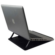 Uncaged Ergonomics SLS Swivel Laptop Stand, Black