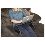 Uncaged Ergonomics WEPB WorkEZ Professional Aluminum Laptop Stand, Black
