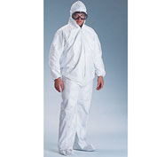 Tyvek Clothing - Hooded Coverall - Large - Pkg Qty 5