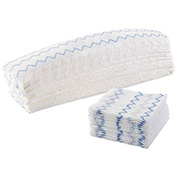 """Rubbermaid Hygen Microfiber Pads For Microfiber Mopping - Disposable Wet/Dry Pad - 18"""", 150 Pack"""