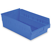 "LewisBins Shelf Bins - 6-5/8""Wx17-7/8""Dx6""H - Pkg Qty 8"