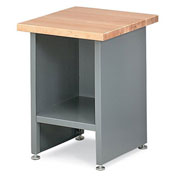 "Relius Elite Enclosed Shop Stand - 24X24X32"" - With Drawer Blue"