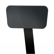 NPS Steel Backrest for 6200 and 6300 Series Stools - Black