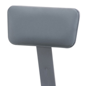 NPS Padded Vinyl Backrest for 6400 Series Stools - Gray