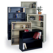 "Edsal Welded Bookcases - 36 x 13 x 29"" Putty"
