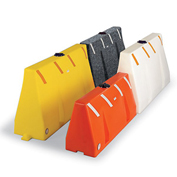 """Poly Barricade - 72""""Wx16""""Dx35""""H"""