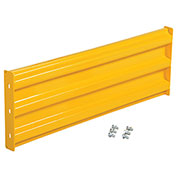 Vestil Three-Rib Rail System - Rail - 4'L - Bolt-on Rail, Rail Only, YGR-B-6