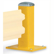 "Wildeck® 18""H Single Column Post For Single Rail, WC18"