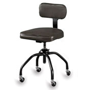 "Bevco Molded Plywood Stool With Non-Swivel Seat - 18-1/2-26-1/2"" Seat Height"