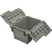 ORBIS Flipak® Distribution Container FP03 - 11-3/4 x 9-3/4 x 7-11/16 Gray - Pkg Qty 6