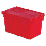 "Orbis Solid Color Flipak Tote - 22-3/10 X13X12-4/5"" - Red - Pkg Qty 6"