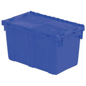 Orbis Solid Color Flipak Tote - 22-3/10 X13X12-4/5 - Blue - Pkg Qty 6
