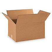 "200-Lb. Test Standard Corrugated Cartons - 18x12x10"" - Pkg Qty 25"