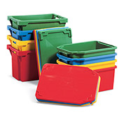 Schaefer Nesting Totes - Fits Container 44503 Red