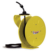 Powereel 125-Volt Cord Reels - Cable Length 25' - 16/3 Sjo Cable