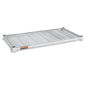 """Extra Shelf For Square-Post Wire Trucks And Carts - 48""""Wx24""""D - Pkg Qty 2"""