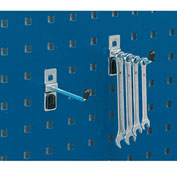 "Bott Single Straight Hooks For Perfo Panels - Package Of 10 - 3""L"