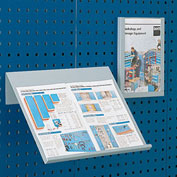 "Bott Toolboard Shelf For Perfo Panels - Vertical Document Holder - 9""Wx12""D (Letter Size)"