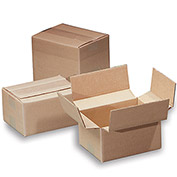 """Variable-Height 200-Lb. Test Corrugated Shipping Boxes - 12x12x12"""" - Pkg Qty 25"""