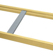"Penco Skid Supports For Pallet Rack - For Plywood/Particleboard - For -7/8"" Step - Fits 48""D Frame"