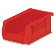 "Akrobins For Racks And Panels - 4-1/8 X7-3/8 X3"" - Red - Pkg Qty 24"