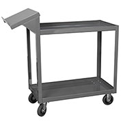 "Akro-Mils Stock-Picking Utility Carts - 36""Wx18""D Shelf"