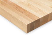 "Relius Solutions 1-3/4"" Butcher Block Maple Top By John Boos - 120X36"" - Square Edge"