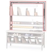 """Built-Rite 72"""" Overhead Frame For Packing Benches"""