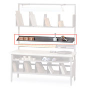 "Built-Rite 72"" Adjustable Shelf For Packing Benches"