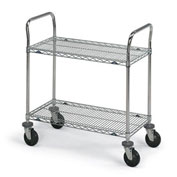 "Metro Extra Shelf For Stainless Steel Wire Utility Carts - 36""Wx24""D"