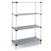 "Metro Corrosion-Resistant Shelving Components - 60X24"" Shelf - Stainless Steel"