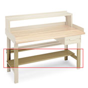 Penco Lower Shelf For Workbenches - 72""