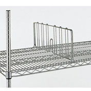 "Metro 8""H Shelf Dividers For Open-Wire Shelving - 24"""