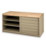 """Edsal Drawer Inserts For Modular Workbenches - For 72"""" Cabinet"""
