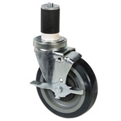 "John Boos 5"" Polyolefin Casters For 304 Stainless Steel Worktables - For 48"", 60"", And 72"" Tables"