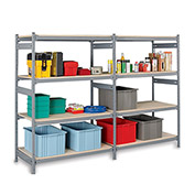 E-Z-RECT Plastic Top or Bottom Cap for Wide-Span Boltless Racking