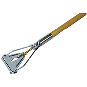 "Rubbermaid Easy Change Style Mop Handle - Steel Head - 60""L - Hardwood"